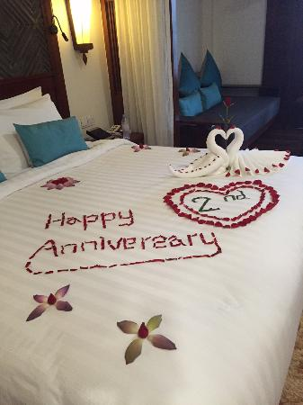 Surprise Anniversary Decorated Bed Picture Of The