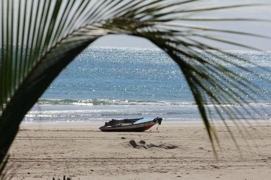 Barra beach view