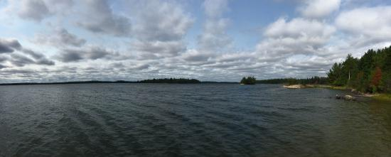 Sioux Narrows, Canada: View from the dock