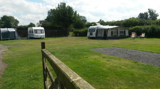 Eardington, UK: Halfway House Caravan Site