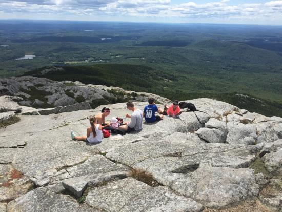 the view from mt monadnock picture of mount monadnock state park