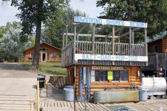 Deer River, Миннесота: Boat house that includes bait, life jackets, etc.