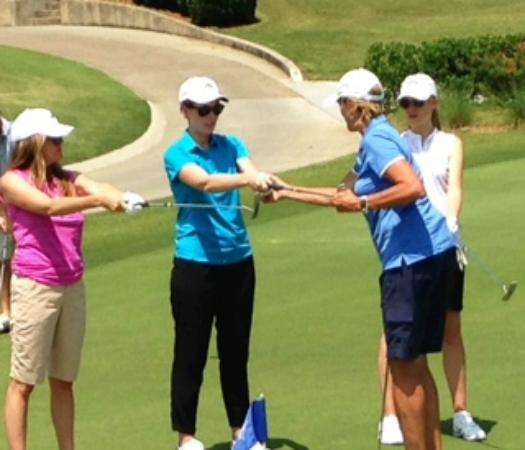 Dana Rader Golf School: Group private lessons available
