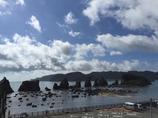 Minshuku Hashikui: 窓からの景色