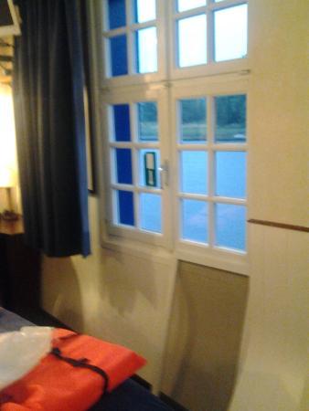 De Barge Hotel: Dalla stanza n. 12