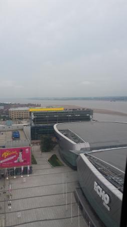 Arena and Convention Centre Liverpool: Vista dalla ruota panoramica