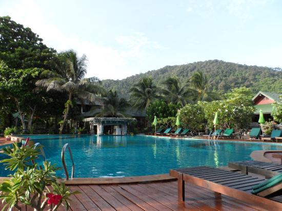 Koh Phangan Dreamland Resort : Piscina