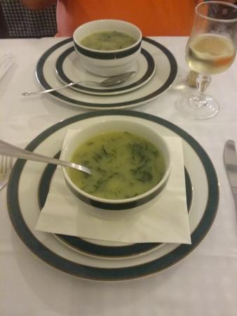 Restaurante O Caldo Verde: Sopa de caldo verde