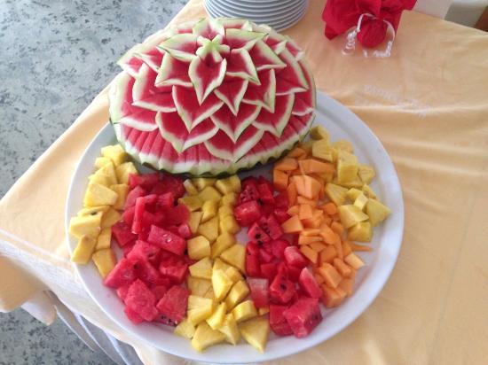 Zenit Hotel: Fruit Dinner