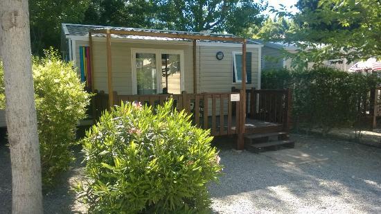 Camping Douce France : Mobil home Venus - Exterieur