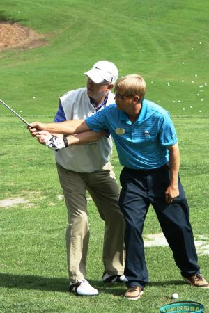 Pga Class A Instructor Andrew Drew Kiger With Gary Woodland Pga