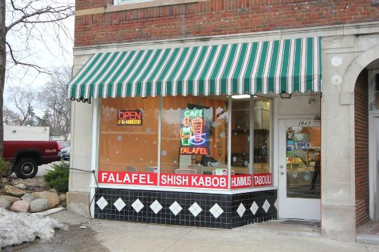 Cafe Falafel from the outside