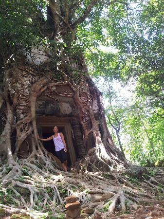 Koh Ker Temple: prasat bram temple