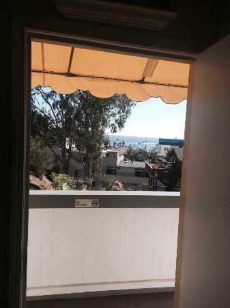 El Terado Terrace: View from our room