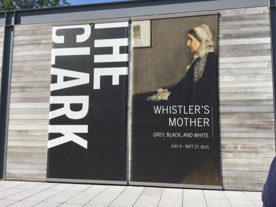 Williamstown, MA: Whistler exhibit entrance