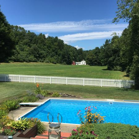 Whately, MA: View of pool