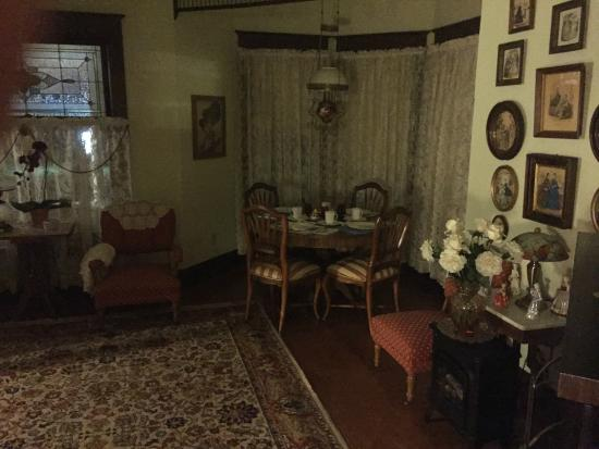 My Fair Lady Bed and Breakfast: One of the living rooms