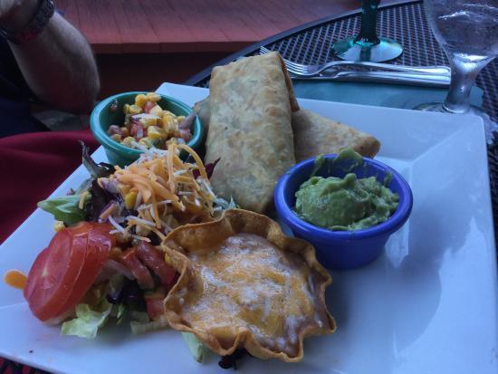 Coyote Flaco Restaurant: Vegetarian entree