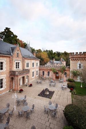 Restaurant Hostellerie Du Chateau Les Muids