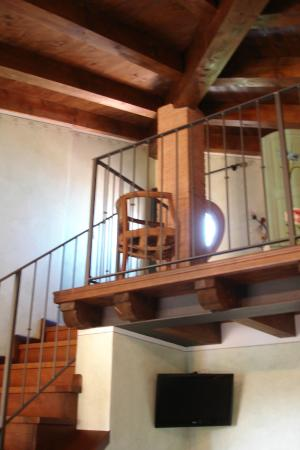 Il Giardino Delle Emozioni: Двухэтажный семейный номер