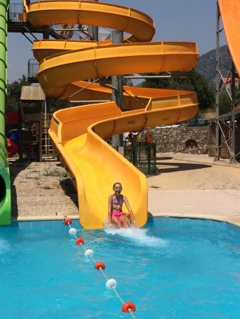 The Grand Ucel Aqua Park: Great fun for all ages and reasonable prices too! Much better than the larger parks as the waiti