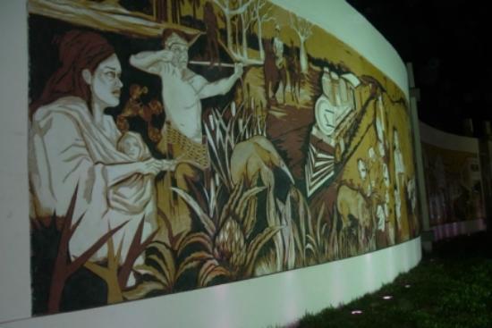 Presidencia Roque Saenz Pena, Argentinien: Mural del Centenario