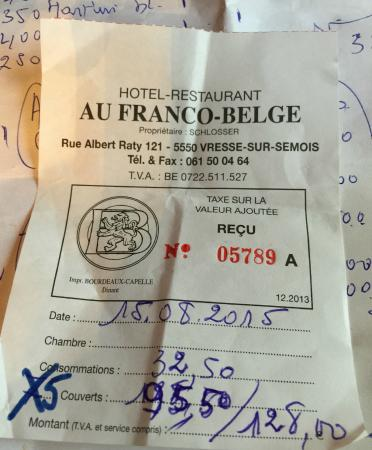Auberge au Franco Belge