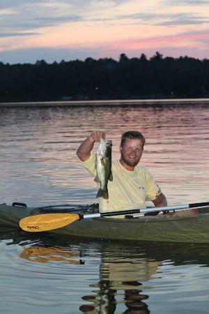 Saint Germain, WI: largemouth bass