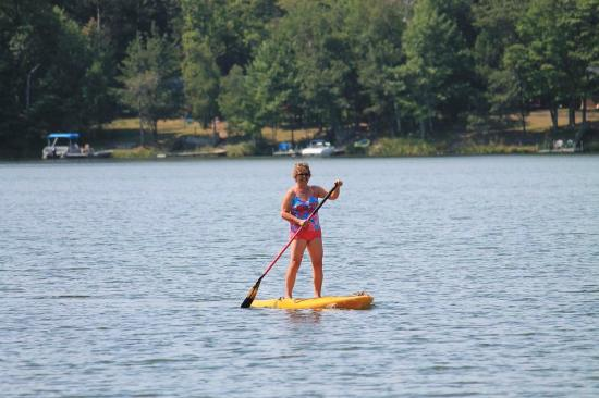 Saint Germain, WI: complimentary paddleboards