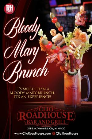 Clio, Мичиган: Bloody Mary Brunch