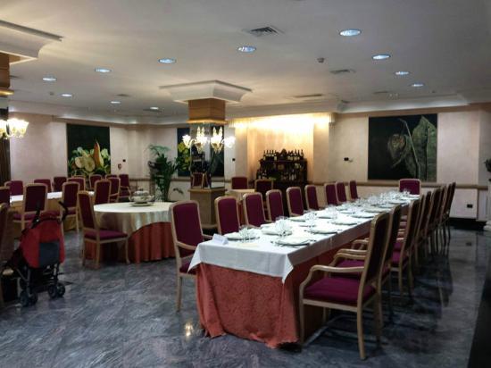 Hotel delle Palme : Il ristorante