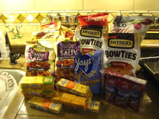 Snyder's of Hanover: Everything I bought at the outlet store - $14.71