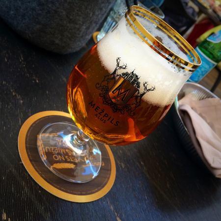 B Bars: Latvian beer
