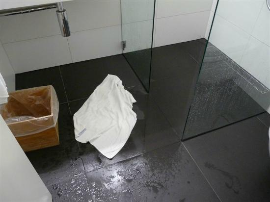 Dossenheim, Germania: Überschwemmung nach dem Duschen