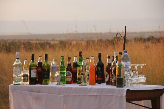 Mara Under Canvas Tented Camp: Drinks