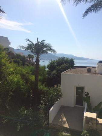 Salmakis Resort & Spa: View from our room (top floor)