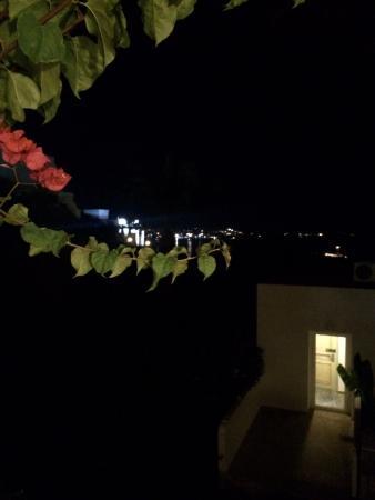 Salmakis Resort & Spa: Night view from balcony