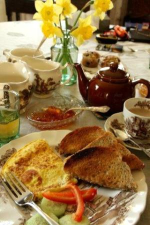 Harvey, Canadá: Breakfast, main course.