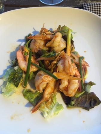 Noorn Akorn : Entrée délicieuse (salade crevette)