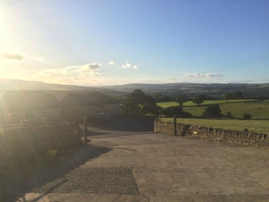 Chevin End Guest House: The stunning setting!