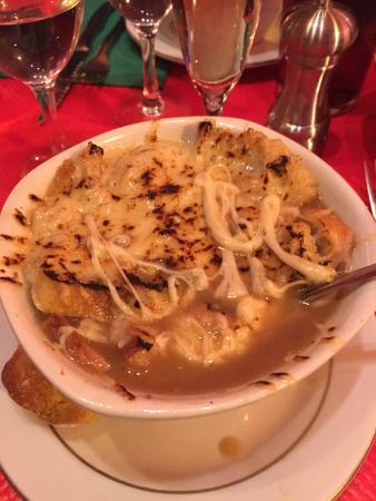 Onion Soup Les Halles Recipe — Dishmaps