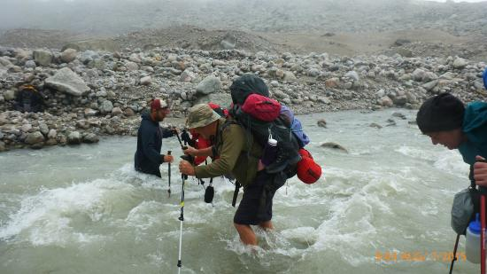 Auyuittuq National Park: River Crossing