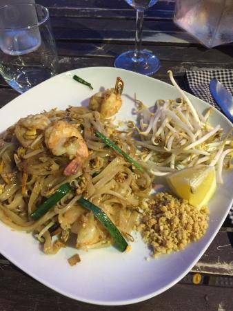 Noorn Akorn : Nouilles sautées crevettes