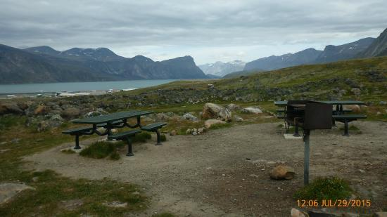 Auyuittuq National Park: Campground in Pangnirtung