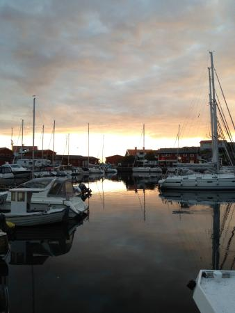 Bohuslän, Suecia: View from the restaurant – Mollosunds Wardshus