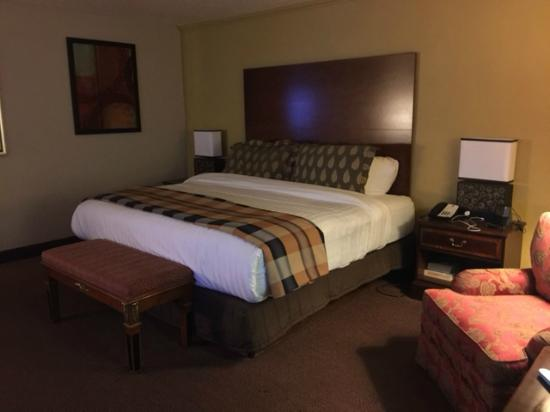 Best Western Plus Milwaukee Airport Hotel & Conference Center: King bed
