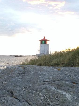 Bohuslän, Zweden: Lighthouse, Mollosund