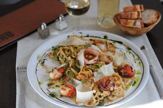 Le Globe : Linguines Saint-Jacques