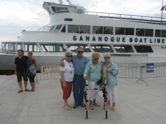 Gananoque, Canadá: Tour Boat