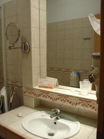 Hotel Orchidea Lipot : Koupelna
